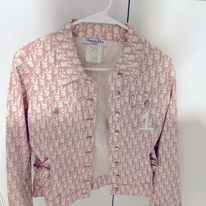 Vintage Dior Pink Monogram Jacket